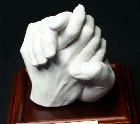 Из гипса слепок руки своими руками