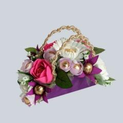 Букетно конфетные композиции на свадьбу как правильно подарить подарок на юбилей